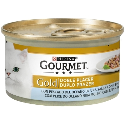 GOURMET GOLD PESC.OCEANO ESPINACA 85G
