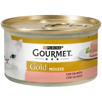 GOURMET GOLD MOUSSE SALMON 85G