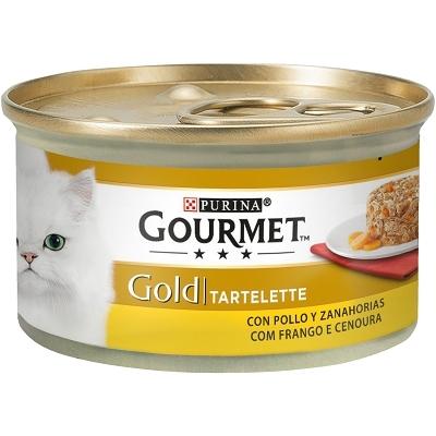 GOURMET GOLD TARTALLETTE POLLO/ZAN