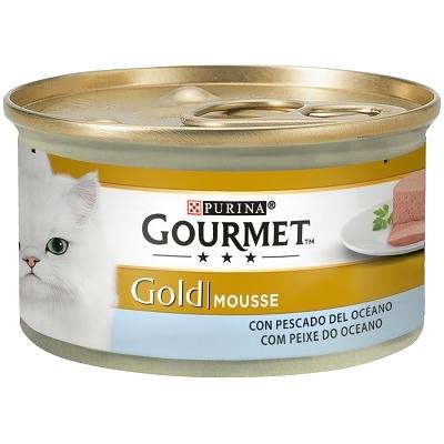 GOURMET GOLD MOUSSE PESCADO OCEANO 85G