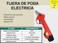 TIJERA DE PODA ELÉCTRICA